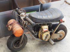 Tracker Motorcycle, Moto Bike, Custom Street Bikes, Custom Bikes, Custom Mini Bike, Mini Motorbike, Diy Go Kart, Strange Cars, Mini Chopper