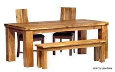 wood outdoor dining table - Google Search