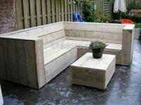 Steiger houten hoekbank ( buiten ) (5)