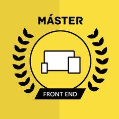 Curso front end temario Este Máster Online de Desarrollo Web Frontend te prepara para convertirte en uno de los perfiles más buscados programando interfaces de aplicaciones web con HTML5, CSS3, JavaScript, ECMAScript, Angular...  HTML, CSS, JavaScript, Angular, frontend, web, ECMAScript, ES6, ES2017, APIs, HTML5, CSS3, Git, GitHub, JQuery, SAAS, Webpack, npm, Yarn, Bower, Gulp, Jasmine, QUnit, Selenium, master Html Css, Ferrari Logo, Logos, Product Development, Web Development, Ferrari Sign, Logo