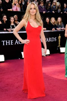 In Calvin Klein Collection at the 83rd Annual Academy Awards.   - ELLE.com