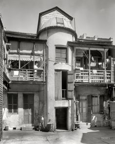 """New Orleans circa 1937. """"The Tower, 1015 Chartres Street."""" Shorpy Historical Photo Archive :: The Tower: 1937"""
