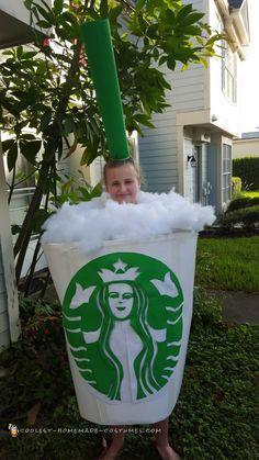 Starbucks Coffee Cup Halloween Costume