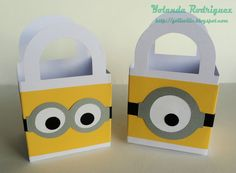 Yolieville: Bridal Shower Favors Part 3 - Minions from Despicable Me