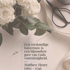 Een verstandige huisvrouw - Matthew Henry(1662 – 1714)