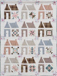 Het huis van de Freule | The Freule House quilt pattern by  Gerrie Dezentje (The Netherlands)