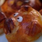 Pan con forma de cerdito