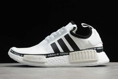 Brand New adidas NMD R1 White Black Outlet Online FY8727 Adidas Nmd R1, Adidas Sneakers, New Shoes, Brand New, Black, Fashion, Moda, Black People, Fashion Styles