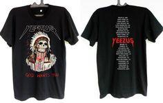 Yeezus T shirt kanye west shirt yeezy man and by DesignerPride