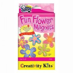 Creativity for Kids Fun Flower Magnets £5.39