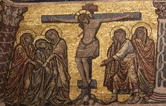 Crucifixion - Firenze Battistero di San Giovanni #TuscanyAgriturismoGiratola