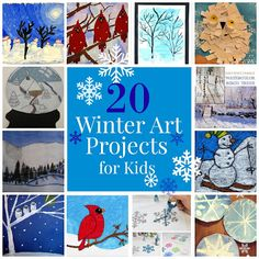 20 Winter Art Projects for Kids