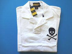 Rugby RL Skull & Bones Polo #TheLarryLe #RIPRugby
