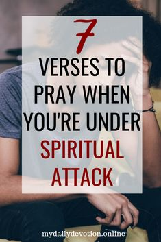 How to Know If You're Under Spiritual Attack - My Daily Devotion Prayer Scriptures, Bible Prayers, Faith Prayer, Bible Verses, Deliverance Prayers, Spiritual Warfare Prayers, Spiritual Authority, Spiritual Wisdom, Spiritual Growth