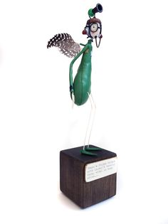 I have adored these for many years- Image of 'Warning Horn Helmet Fairy' by Samantha Bryan.