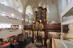 broerenkerk church gets a final transformation - 'waanders in der broeren' by bk architecten, zwolle, the netherland