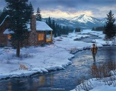 Winter Landscape Linda Picken