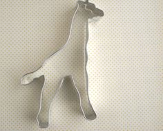 You wont have to stick your neck out far to get great cookies with this Giraffe cookie cutter! Great for baby shower cookies or Jungle themed