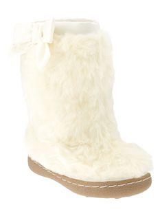 Fur boot #GapLove