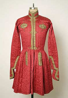 Coat, 1875-1900, Central Asian, silk and metal