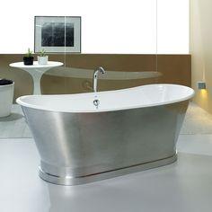 Camden Freestanding Bath. View more freestanding baths here: http://www.cphart.co.uk/baths/free-standing-roll-top-baths/ #baths #bathrooms #freestandingbaths