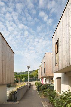 16 logements pour seniors à Plesnois/ KL ARCHITECTES