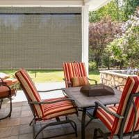 Buy Outdoor Window Treatments Online at Overstock | Our Best Outdoor Decor Deals Outdoor Decor, Shade Sail, Shades Blinds, Three Season Room, Outdoor Living Space, Outdoor Blinds, Light Filtering Shades, Bamboo Shades, Solar Shades