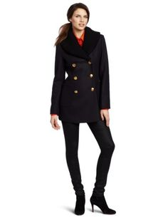 Vivienne Westwood Anglomania Women`s Vienna Peacoat With Rib for only $470.61