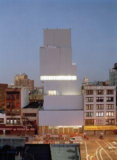 New Museum of Contemporary Art in New York by Kazuyo Sejima + Ryue Nishizawa/SANAA.