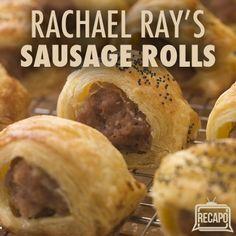 Rachael Ray: Yummy Mummy — Homemade Sausage Puff Pastry Recipe