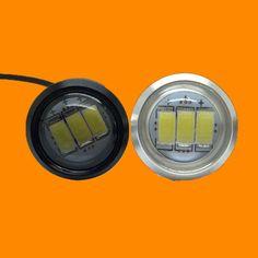 3 LED Car DRL Eagle Eye light Car Styling DIY 2.3Cm 500-Lumen Waterproof Parking Lamp/Taillights  LED Car Work Lights Source AJ
