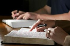 Pick several verses from the bible and type them up.