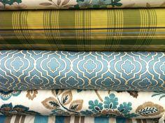 Quatrefoil pattern.