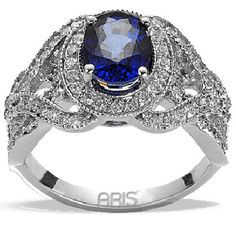 ★ Sapphire Rings For Women ★ My (now ex) Fiance', Nick, bought me a ring very similar to this one about eight years ago. We still love each other, and are good friends. The possibility of marriage is still exists. That is something we are in agreement with.