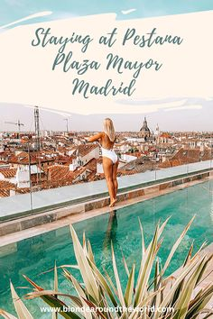 Staying in the heart of the city at Pestana Plaza Mayor Madrid Europe Travel Guide, Travel Guides, Best Hotels In Madrid, Cave Pool, Rooftop Pool, In The Heart, Hotel Reviews, Nice View, Where To Go