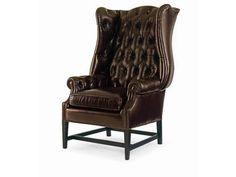 Aniline Leather. Diamond Tufted Inback. Spring Down Seat, Matching Sofa ''PLR-6202-Harness''.