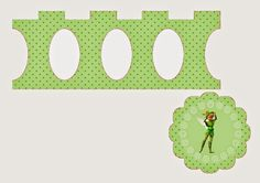 Tinkerbell: Free Printable Mini Cupcake Stand. | Oh My Fiesta! in english