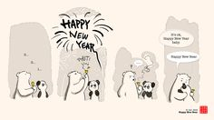 Happy New Bear! Best wishes...