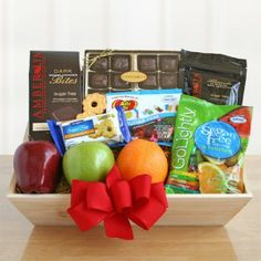 Sugar Free Sweets Healthy Gift Crate. Sender will receive NakedWines $50 gift card with purchase.