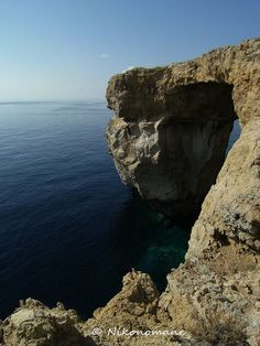 Blue window Gozo