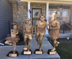 Shout Out To My Nieces Mama This Has Gotta Be The Most Creative Thing Ever... Trophies For Halloween
