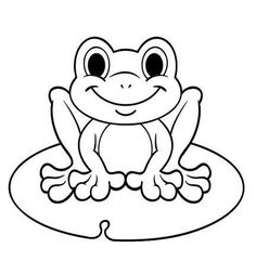 Top 12 Frog Coloring Pages for All Ages - Coloring Pages Drawing Pictures For Kids, Coloring Pictures For Kids, Frog Pictures, Drawing For Kids, Pictures To Draw, Frog Coloring Pages, Animal Coloring Pages, Coloring Pages For Kids, Coloring Books