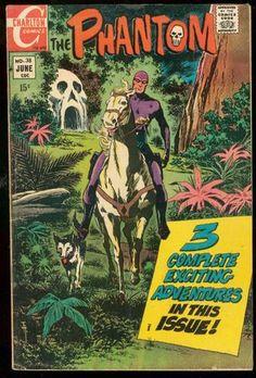 The Phantom 38 1970 Charlton Comics Skull Cave VG FN | eBay