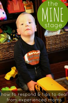 "Toddler Approved!: Tips for the Toddler ""MINE"" stage."