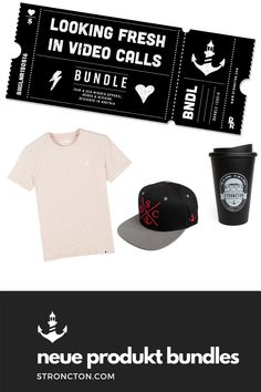 Looking Fresh in Video Calls - Bundle Coffee To Go Cup, Videos, Snapback, Sweatshirt, Inspiration, Cold, Coffee, Products, Dressing Up