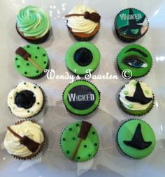 Wicked cup cakes... these rock