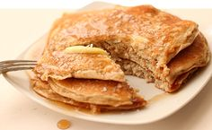 Ask The Protein Powder Chef: Do You Have A Recipe For Protein Pancakes? Drop that frozen waffle. Slice through this delicious carb-and-protein filled breakfast. Bodybuilding.com
