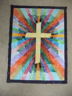 This is beautiful!  Made by grammy of 6 and found on The Quilting Board.