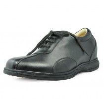 Black men height golf shoes can be taller 7.5cm / 2.95inches