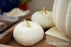 Coastal Anchor Pumpkin crafts  for Fall - Crafts by Courtney